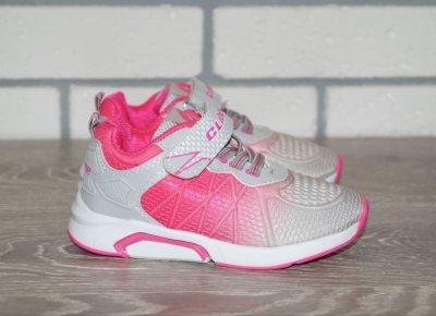 Кросівки Clibee F73 рожеві сірі