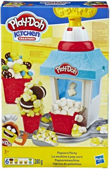 Игровой набор с массой для лепки Play-Doh Попкорн-вечеринка (E5110)