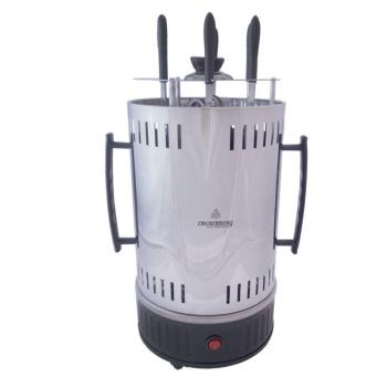 Домашня плита електрична шашличниця Crownberg CB 7415 на 5 шампурів Потужність 1000 Вт