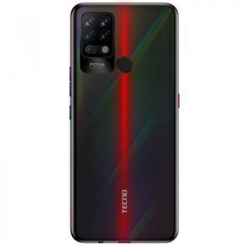 Мобільний телефон TECNO LD7 (POVA 6/128Gb) Dazzle Black (4895180762468)