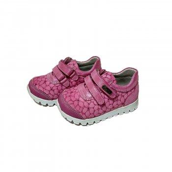 Кросівки PANDA рожеві з натуральних матеріалів (884 P.1214)