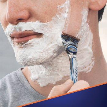 Станок для бритья мужской (Бритва) Gillette Fusion5 с 4 сменными картриджами (7702018556274)