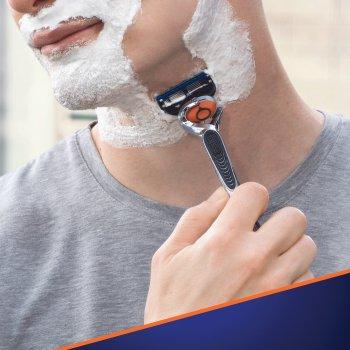 Станок для бритья мужской (Бритва) Gillette Fusion5 ProGlide Flexball с 4 сменными картриджами (7702018556298)