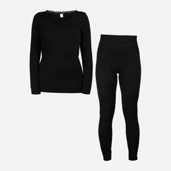 Комплект женского термобелья Supretto 5656-0001 Черный