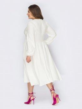Плаття Dressa 53586 Біле