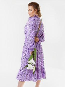 Платье Dressa 53650 Фиолетовое