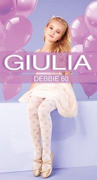 Колготки Giulia Debbie (3) 60 Den 116-122 см Powder (4823102965109)