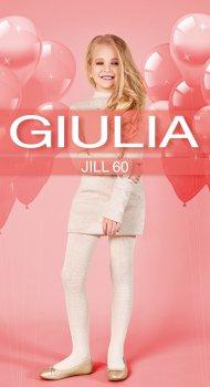 Колготки Giulia Jill (2) 60 Den 140-146 см Bianco (4823102965864)