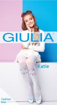Колготки Giulia Katie 80 (2) 80 Den 140-146 см Bianco (4823102935539)