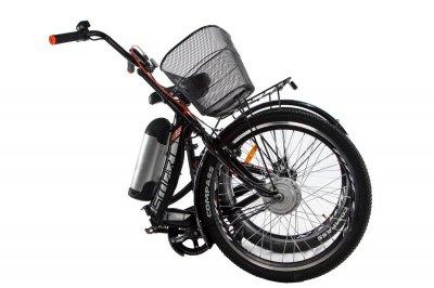 Электровелосипед складной Formula Smart складной передний привод с заниженной рамой 36V 10 Ah 350 Вт черно-серый (FS21CHS)