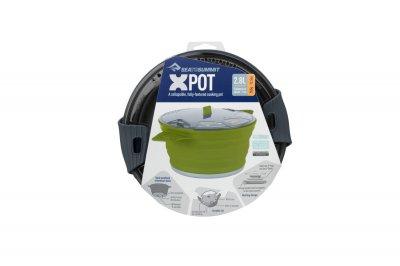 Каструля складна Sea To Summit X-Pot 2.8 L Charcoal STS AXPOT2.8CH