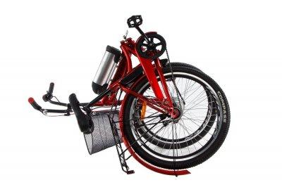 Електровелосипед складаний Formula Smart складаний передній привід із заниженою рамою 36V 10 Ah 350 Вт червоний (FS21R)