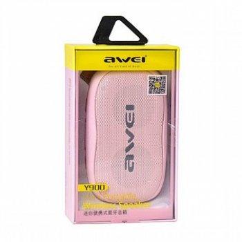 Колонка Вluetooth Awei Y900 pink