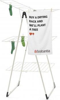 Сушилка для белья Brabantia Drying Rack напольная 3-ярусная 23 м White (477843)