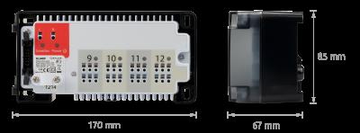 Розширюючий модуль до центру комутації KL08RF, KL04RF