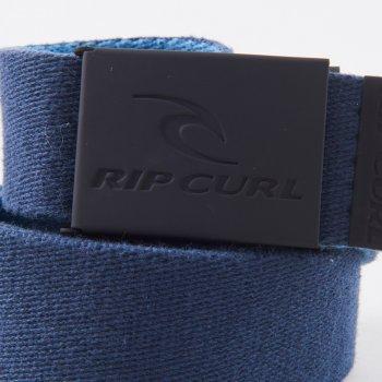 Мужской ремень Rip Curl Snap Revo Webbed Belt CBECL1-107 Сине-черный (9353970457567)
