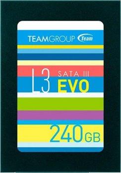 "Накопичувач SSD 240GB Team L3 EVO 2.5"" SATAIII TLC (T253LE240GTC101)"