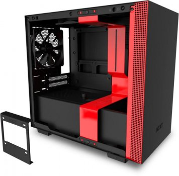 Корпус NZXT ZXT H210i Mini ITX BR with Smart Device 2 (CA-H210i-BR)