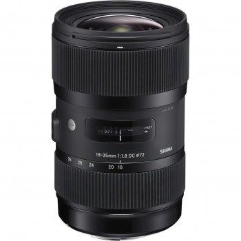 Об'єктив Sigma A 18-35mm f/1,8 DC HSM z mocowaniem Canon (210954)