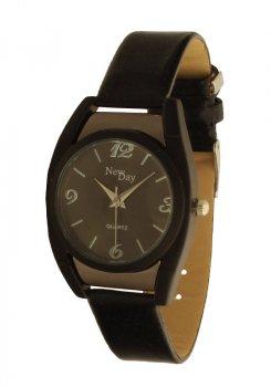 Женские часы NewDay бочкообразные классические черные