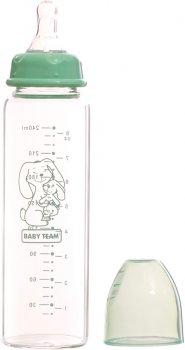 Бутылочка для кормления Baby Team стеклянная 250 мл (1211)