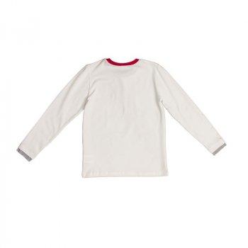 Цікава футболка GF FERRE Кремовий 9223/905