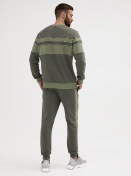 Спортивний костюм ISSA PLUS GN-428_оливковий Оливковий