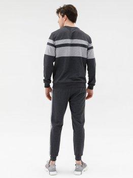 Спортивний костюм ISSA PLUS GN-428_темно-сірий Темно-сірий