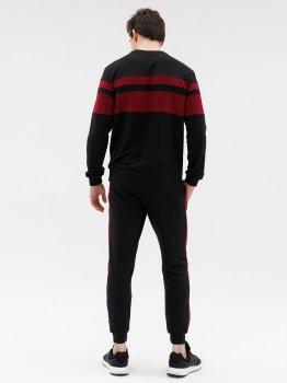 Спортивний костюм ISSA PLUS GN-428_чорний Чорний