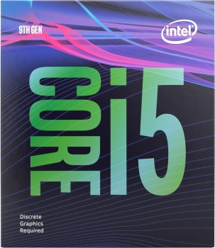Процесор Intel Core i5-9500F 3.0GHz / 8GT / s / 9MB (BX80684I59500F) s1151 BOX
