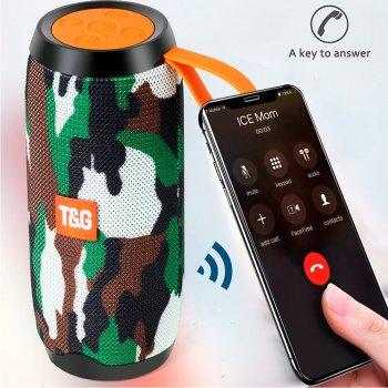 Stereo колонка Bluetooth 5.0 підсвічуванням 10W 1200mAh Military