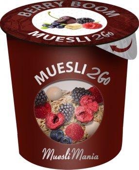 Упаковка гранола с фруктами Muesli Mania Fruit It 6 шт х 70 г (6k-4820220140036)