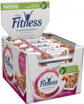 Упаковка батончиков злаковых Fitness с Спелыми ягодами , витаминами и минеральными веществами 16 шт х 23.5 г (5900020030634)