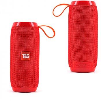 Bluetooth-колонка TG106, Потужністю 10W, Акумулятор 1200mAh Red
