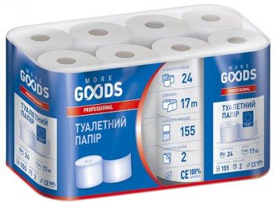 Туалетний папір More Goods Professional 24 шт. (4820201211809)