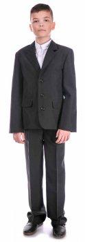 Классический пиджак Nega Нега для мальчика, черный (ШФН000121_46)