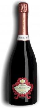 Вино игристое Badagoni Маэстро Саперави красное полусладкое 0.75 л 11% (4860006041195)