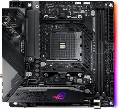 Материнська плата Asus ROG Strix X570-I Gaming Socket AM4
