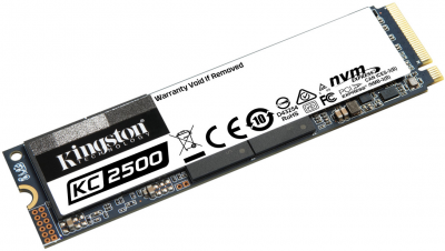Kingston KC2500 250GB NVMe M.2 2280 PCIe 3.0 x4 3D NAND TLC (SKC2500M8/250G)