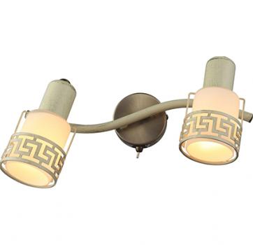Бра INL-9330W-02 Antique brass & Ivory