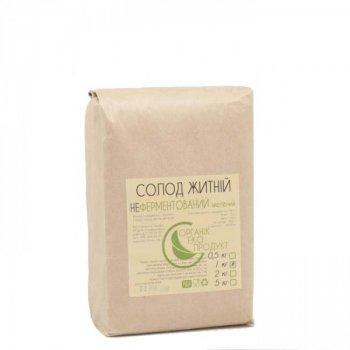 Солод житній білий не ферментований Organic Eco-Product, 1 кг