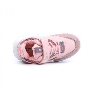 Кросівки для дівчинки CLIBEE F8 Рожевий КВ0477