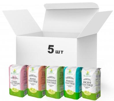 Упаковка пластівців Терра Mixed Flakes Healthy у крафт-пакеті 5 шт. (4820015736918)