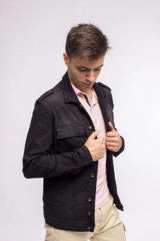 Куртка джинсова чоловіча Integral Jeans чорний (7312)