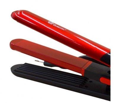 Щипцы для укладки волос DOMOTEC MS-4909 PTC нагреватель для всех типов волос, Красные