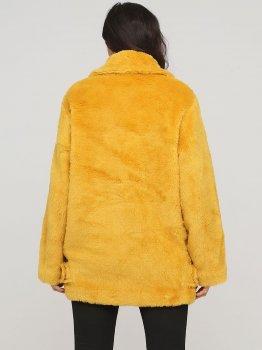 Полушубок Monki 240203s78 Желтый