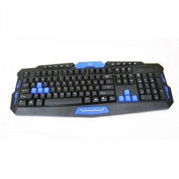 Безпровідний комплект клавіатура і мишка HK8100 геймерський комплект чорний