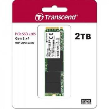 Накопичувач SSD M. 2 2280 2TB Transcend (TS2TMTE220S)