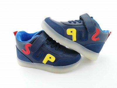 Кроссовки BBT 17-4 синие