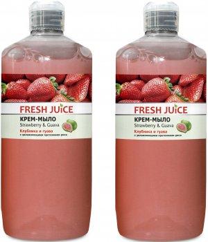 Набор Fresh Juice Крем-мыло Strawberry&Guava 1 л х 2 шт (49000066)